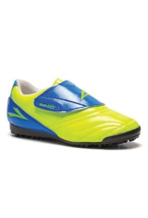 Lig İmpact Sarı Saks Halı Saha Ayakkabısı