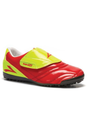 Lig İmpact Sarı Kırmızı Halı Saha Ayakkabısı