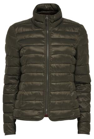 Only Tahoe Nylon Contrast Jacket Otw Kadın Mont