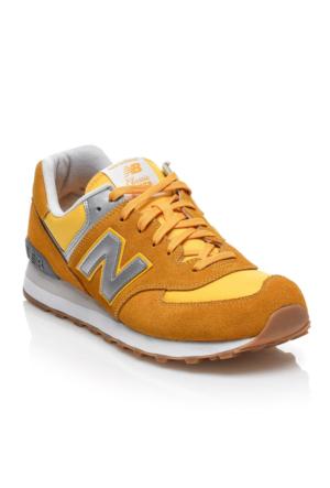 New Balance 574 Erkek Spor Ayakkabı Sarı ML574HRK