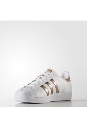 Adidas Ba8169 Superstar W Kadın Deri Günlük Spor Ayakkabı