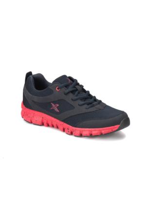Kinetix Almera Lacivert Kırmızı Erkek Fitness Ayakkabısı
