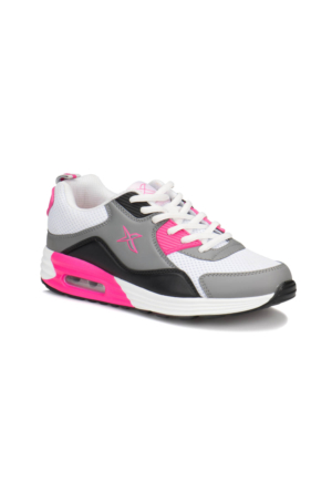Kinetix Alven Mesh W Beyaz Fuşya Siyah Kadın Sneaker