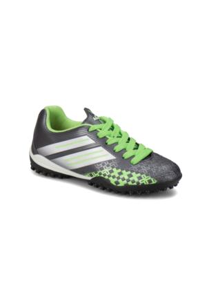 Kinetix Crosser Turf Gri Neon Yeşil Beyaz Erkek Çocuk Halı Saha Ayakkabısı
