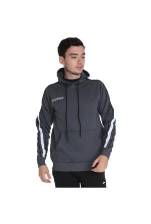 Sportive Basics Line Pamuklu Kapüşonlu Sweat Shirt