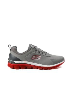 Skechers Gri Erkek Ayakkabısı 51473 LGRD