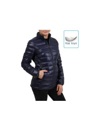Icepeak Lacivert Kadın Outdoor Montu 53212 815 390