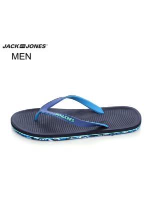 Jack & Jones 12103735 Jjcampos Rubber Pack Flip Flop Navy Blazer Terlik