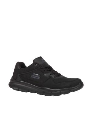 Slazenger EKOM Erkek Koşu Ayakkabı Black / Black