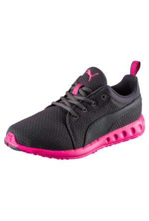 Puma Carson Mesh Bayan Koşu Ayakkabısı Gri 18902506