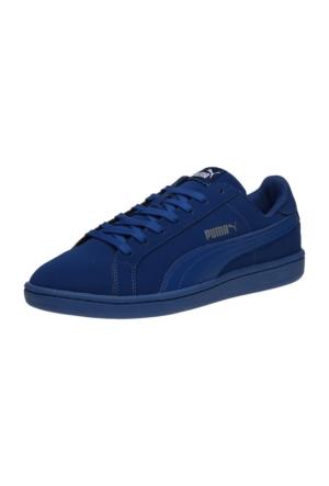 Puma Smas Buck Erkek Günlük Ayakkabı Mavi 35675326
