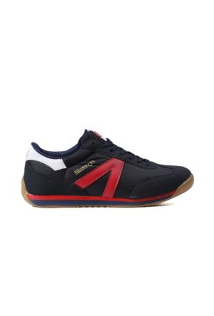 Slazenger Erkek Ayakkabısı MAD-NAVY-RED