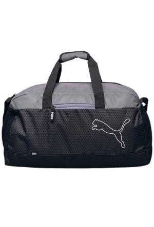 Puma Echo Sports Bag Puma Black-Quiet Sh 07439701