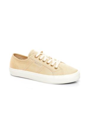 Gant Zoe Kadın Krem Sneaker Ayakkabı 14538642.G17