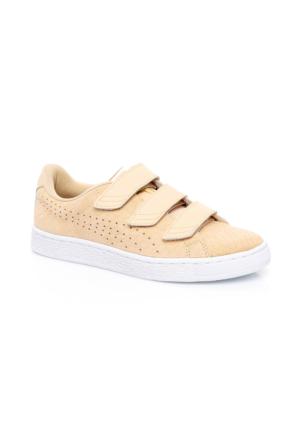 Puma Basket Bej Kadın Ayakkabı 362707.03