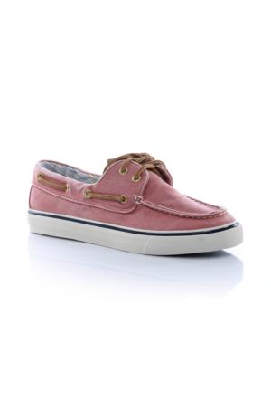 Sperry Top-Sider Bahama 2-Eye Kadın Kırmızı Sneaker 9447855