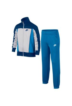 Nike 805472-101 B Nsw Trk Suit Pac Poly Çocuk Eşofman Takımı