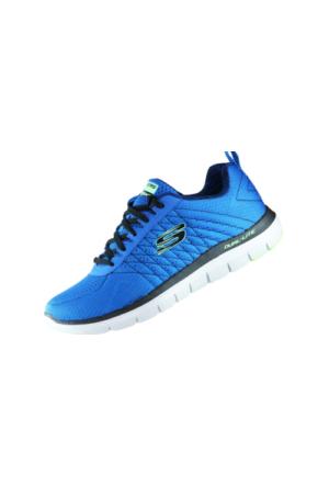 Skechers Flex Advantage 2.0 Erkek Spor Ayakkabı 52185-BLBK