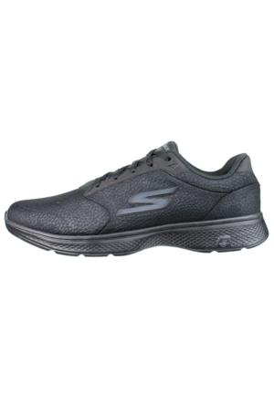 Skechers Go Walk 4 Lace Ups Erkek Spor Ayakkabı 54151-BBK