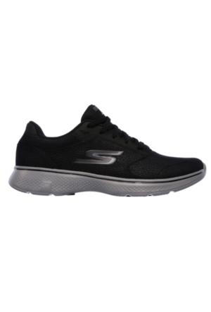 Skechers Go Walk 4 Lace Ups Erkek Spor Ayakkabı 54151-BKGY