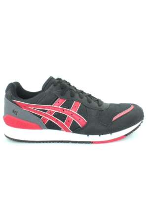 Asics Gel Noosa Erkek Spor Ayakkabı Siyah Kırmızı