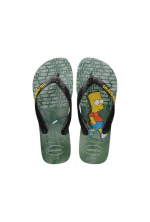 Havaianas Simpsons Erkek Gri Terlik 4137889.3498