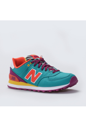 New Balance WL574 Pop Safari Mavi Kadın Günlük Ayakkabı
