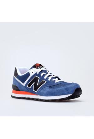 New Balance 574 Mavi Erkek Günlük Ayakkabı