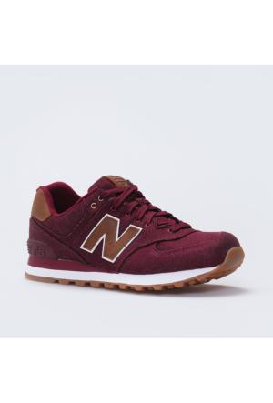 New Balance 574-Denim Pack Kırmızı Erkek Günlük Ayakkabı