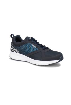 Kinetix Athletix 87 Lacivert Beyaz Koyu Mavi Erkek Fitness Ayakkabısı