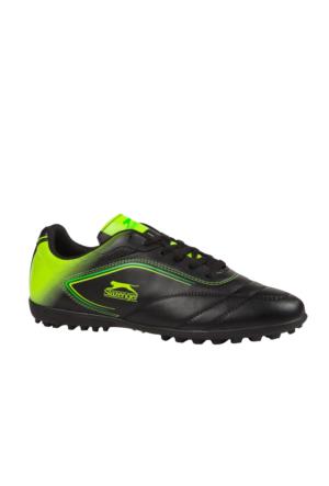 Slazenger 17Fe002 Bağlı Munih Halı Saha Siyah Erkek Ayakkabı