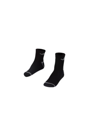 Lescon La-2192 Siyah Erkek Tenis Çorap 40-45 2'Li