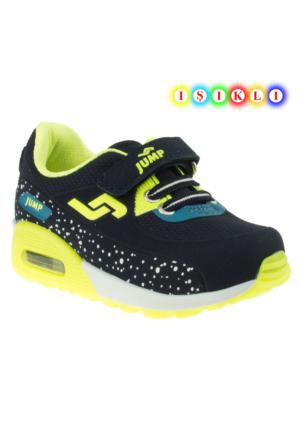 Jump 16753 Fashion Işıklı Lacivert Çocuk Spor Ayakkabı