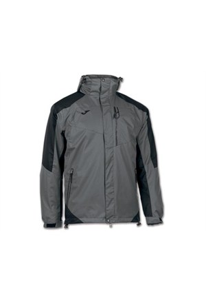 Joma 100205.151 Invictus Parka Grey Black Ceket