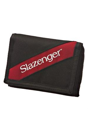 Slazenger Heze Wallet Siyah Kırmızı Unisex Spor Cüzdan