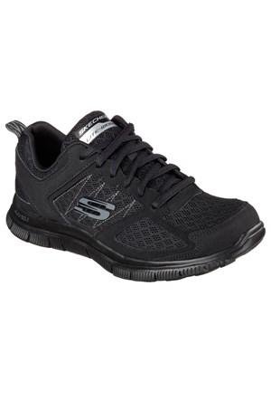 Skechers 12452 Bbk Flex Appeal Koşu Yürüyüş Ayakkabısı