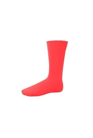 Korayspor Duz Çorap 123 Kıremıt Erkek Çorap Düz Renk Erkek Çorap