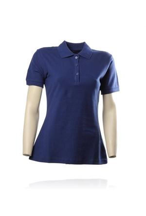 Sportive Polo Pıke Bayan T-Shirt (100856-Lıl)