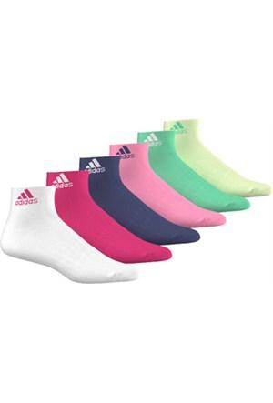 Adidas Aj9605 Per Ankle T 6Pp 6'Lı Spor Çorap