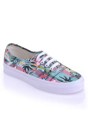 Vans Authentic Günlük Spor Ayakkabı Renkli Vvoeawz