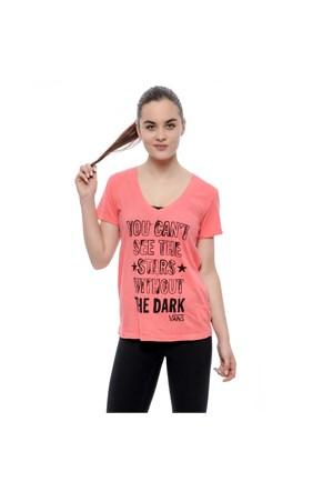 Vans Star Blind V Neck Tişört Pembe V1bpeıy
