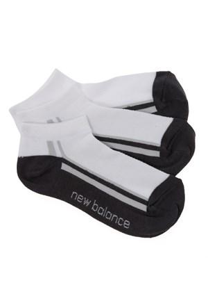 New Balance Socks Çorap Siyah 3-20-00015-Bk