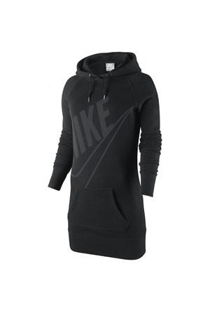 Nike 503544-010 Hbr Boyfriend Po Hoody Kadın Sweat