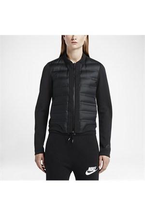 Nike 708913-010 Tech Fleece Aeroloft Bomber Kadın Mont