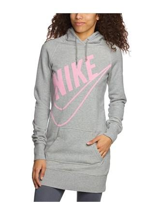Nike 503544-066 Hbr Boyfriend Po Hoody Kadın Sweat