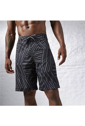 Reebok Ak1419 Bw Striped Boardsho Ashgry Erkek Şort