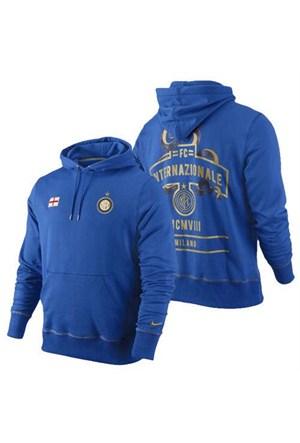 Nike 419932-463 Fc İnter Core Hoody Erkek Sweat