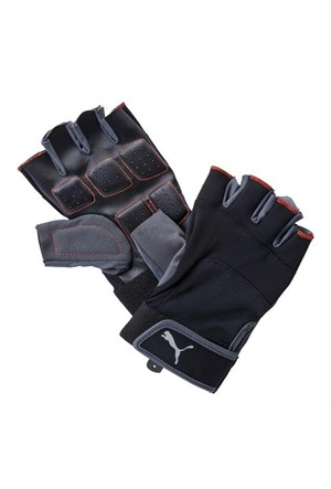 Puma Training Gloves Up Black- Red Erkek Eldiven