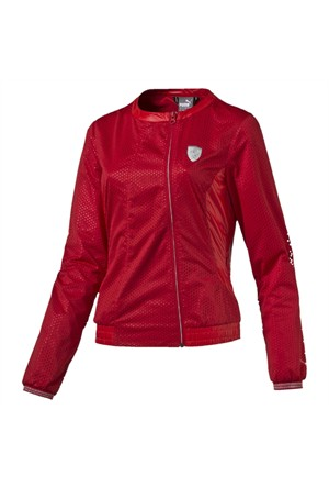 Puma Ferrari Lightweight Jacket Rosso Corsa