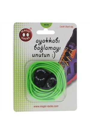 Magic Lock Elastik 16A2 Bağcık